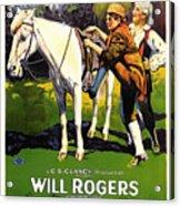 The Headless Horseman 1922 Acrylic Print