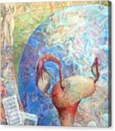 The Healer Set Me Free Acrylic Print by Arlissa Vaughn