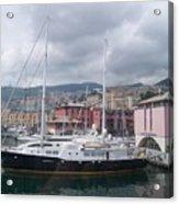 The Heart Of Genova. Acrylic Print