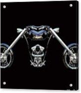 The Heart Of The Harley Acrylic Print