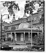 The Henry B. Plant Museum Bw Acrylic Print