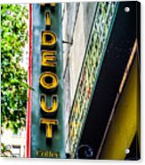 The Hideout Acrylic Print