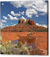 The High Desert Drinks Acrylic Print by Gary Kaylor