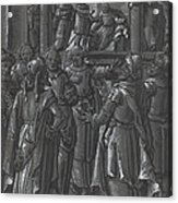 The High Priest Before Pilate [verso] Acrylic Print