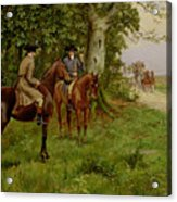 The Highwaymen Acrylic Print