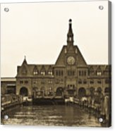 The Historic Crrnj Train Terminal Acrylic Print