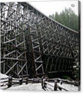 The Historic Kinsol Trestle 3. Acrylic Print
