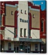 The Historic Texas Theatre Acrylic Print
