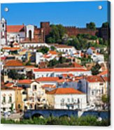 The Historic Town Of Silves In Portugal Acrylic Print