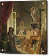 The History Painter Acrylic Print