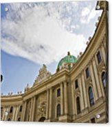 The Hofberg In Vienna Acrylic Print