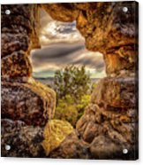 The Hole In The Wall Acrylic Print
