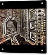 The Hollow Citadel Acrylic Print