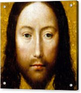 The Holy Face Acrylic Print by Flemish School