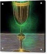 The Holy Grail By Raphael Terra Acrylic Print