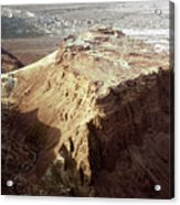 The Holy Land: Masada Acrylic Print