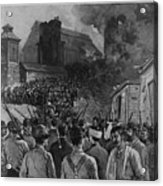 The Homestead Steel Strike Riot Acrylic Print by Everett