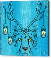 The Horned Cheetah Acrylic Print