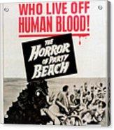 The Horror Of Party Beach, 1964 Acrylic Print