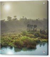 The Horton Plains. Sunrise Acrylic Print