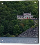 The House By The Llyn Peris Acrylic Print