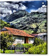 The House In The Valley Acrylic Print