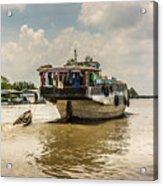 The Houseboat Acrylic Print