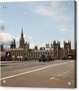The Houses Of Parliament. Acrylic Print