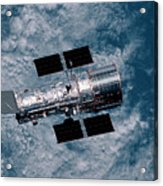 The Hubble Space Telescope Acrylic Print