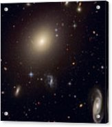 The Hubble Space Telescope Reveals An Acrylic Print by ESA and nASA