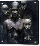 The Human In Me Acrylic Print