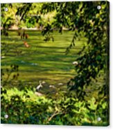 The Hunter - Paint Acrylic Print