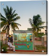The Ice Cream Man Acrylic Print