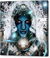 The Ice Queen  Acrylic Print