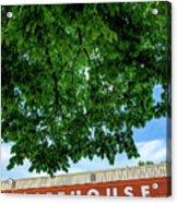 The Icehouse - Bentonville Market District Acrylic Print