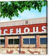 The Icehouse - Market District - Bentonville Arkansas Acrylic Print