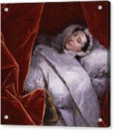 The Illness Of Actress Peg Woffington Acrylic Print