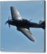 The Ilyushin Il-2 In Flight Acrylic Print