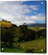 The Inca-canari Ruins At Ingapirca V Acrylic Print