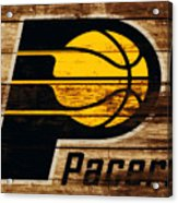 The Indiana Pacers 3c Acrylic Print
