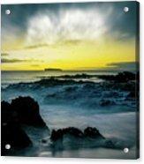 The Infinite Spirit  Tranquil Island Of Twilight Maui Hawaii  Acrylic Print