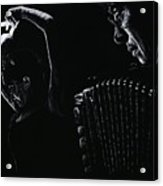 The Intensity Of Flamenco Acrylic Print