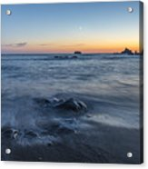 The Intention Of The Sea Acrylic Print