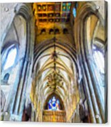 The Interior Of The Southwark Cathedral  Acrylic Print