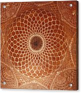 The Intricate Inlay And Carving Acrylic Print