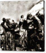 The Irish Exodus Acrylic Print