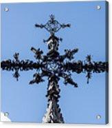 The Iron Cross Of Santa Cruz Acrylic Print