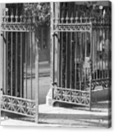 The Iron Gates Acrylic Print