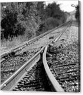 The Iron Road Acrylic Print