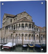 The Island Of Murano Is A Quiet Islan Acrylic Print by Taylor S. Kennedy
